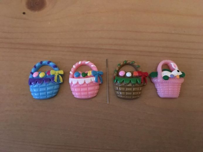 Easter Baskets Needle Minder